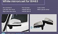 Mirror Set for G class 463