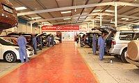 Auto repair workshop in Dubai