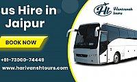 Bus Hire in Jaipur - Harivansh Tour