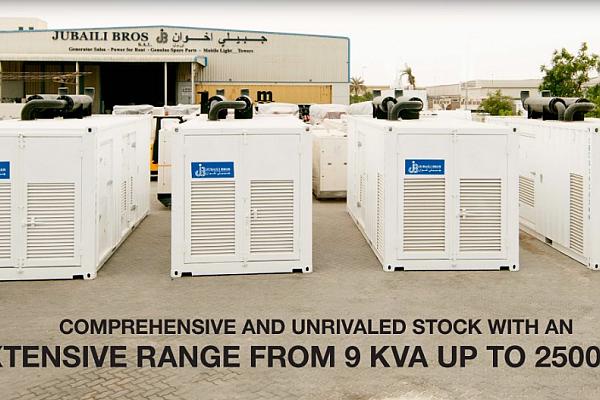 Generators Spare Parts Suppliers in Qatar - Jubaili Bros