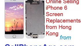 Online sell iPhone 6 screen replacement from HK