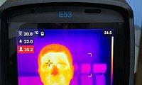 body temperature measurement camera
