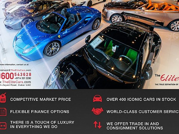 Dubai New and Pre-owned Luxury Cars – The Elite Cars