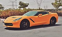 Rent the Chevrolet Corvette AED 850  Day - Rental Cars Finder