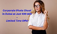 Corporate Photo Shoot in Dubai at Just 499 AED - Limited Time Offer